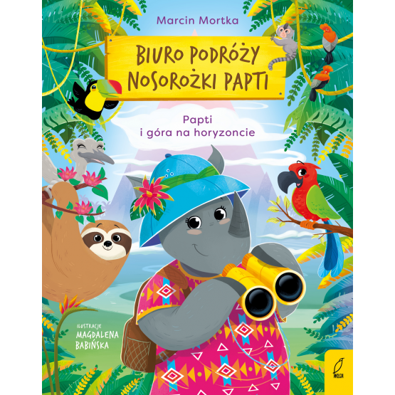 Książka Biuro podróży nosorożki Papti. Papti i góra na horyzoncie Marcin Mortka