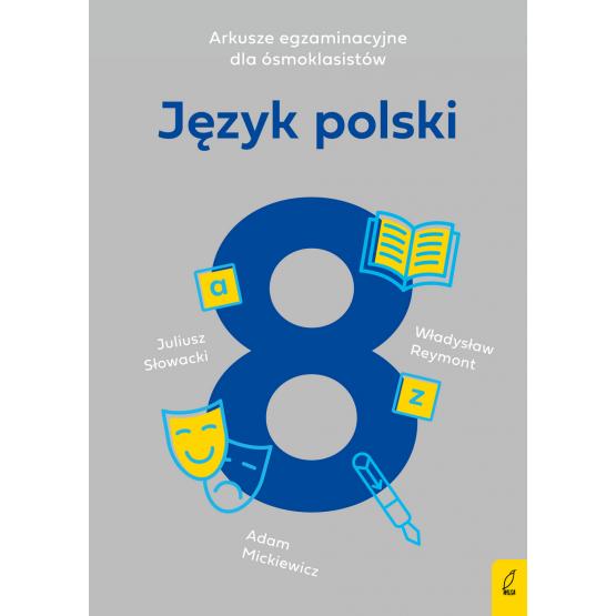 Książka Arkusze egzaminacyjne dla ósmoklasistów. Język polski Agnieszka Harasimik