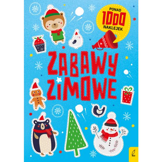 Książka Zabawy świąteczne. Ponad 1000 naklejek Praca zbiorowa
