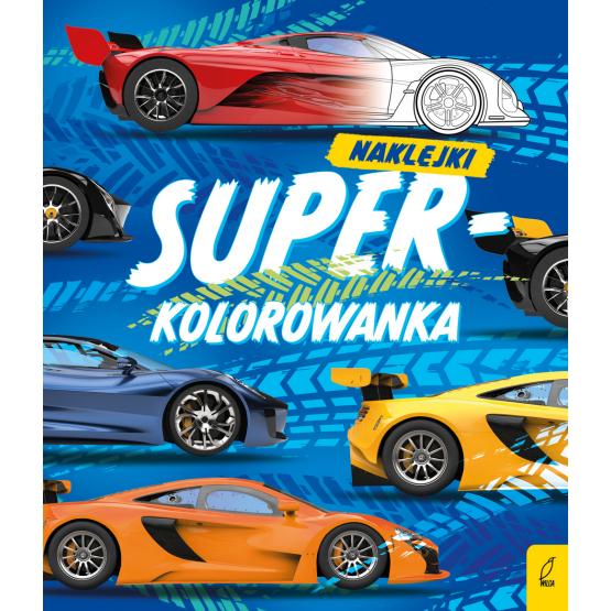 Książka Superkolorowanka. Moja niebieska kolorowanka Praca zbiorowa