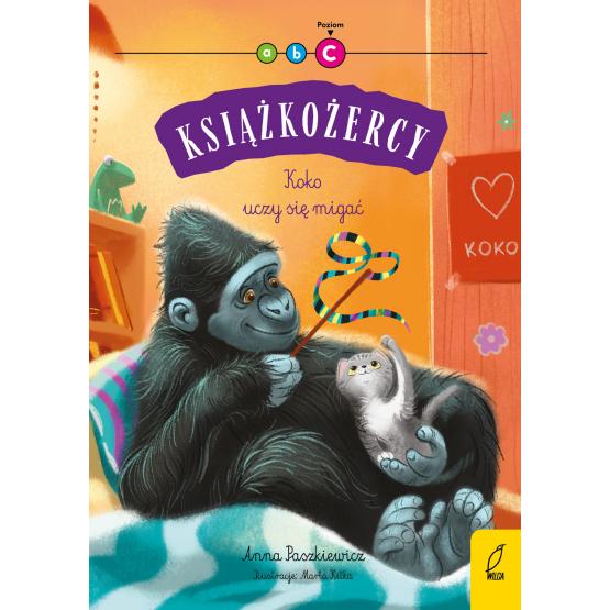 Książka Książkożercy. Poziom 3. Koko uczy się migać Anna Paszkiewicz
