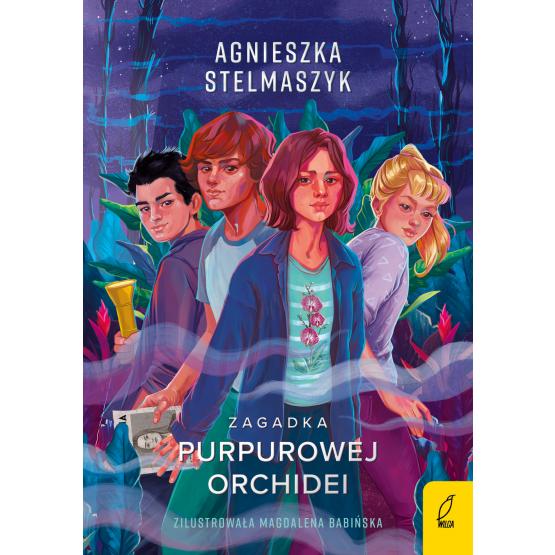 Książka Klub Przyrodnika. Zagadka purpurowej orchidei. Tom 1 Agnieszka Stelmaszyk