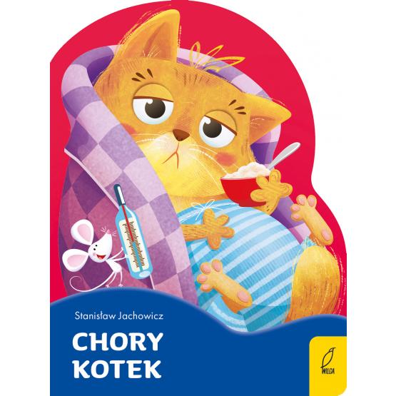 Książka Chory kotek. Wykrojnik Stanisław Jachowicz