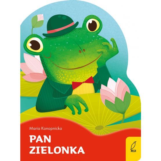 Książka Pan Zielonka. Wykrojnik Maria Konopnicka