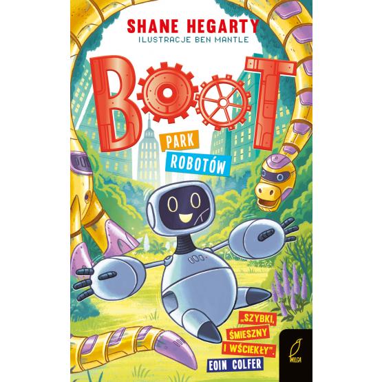 Książka Boot. Park robotów. Tom 3 Shane Hegarty