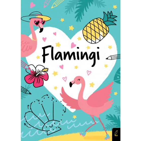 Książka Koloruję. Kocham flamingi Praca zbiorowa