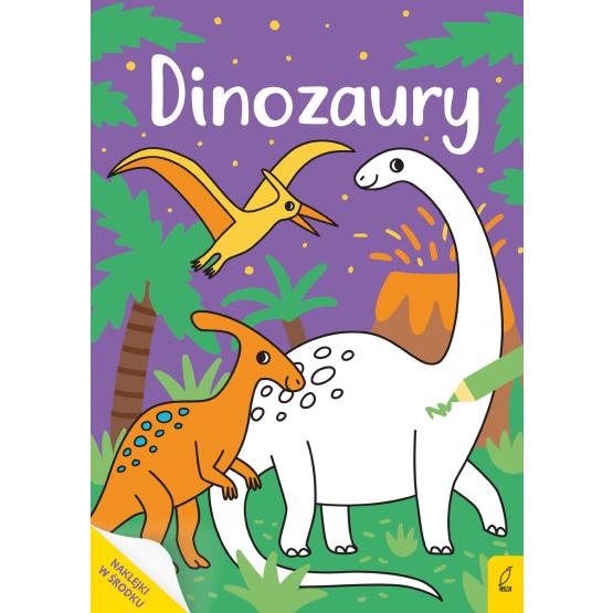 Książka Moja kolorowanka. Dinozaury Praca zbiorowa