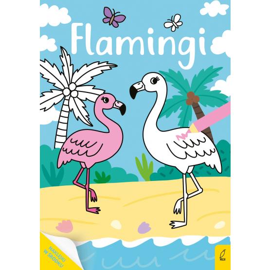 Książka Moja kolorowanka. Flamingi Praca zbiorowa