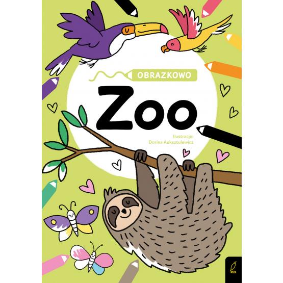 Książka Obrazkowo. Zoo Praca zbiorowa