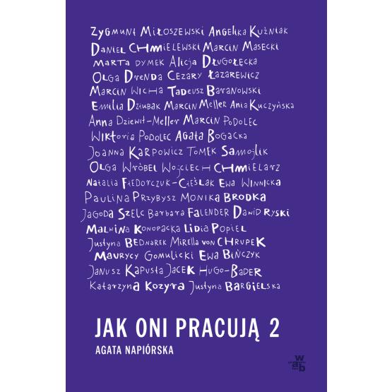Książka Jak oni pracują 2 Agata Napiórska