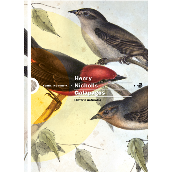 Książka Galapagos. Historia naturalna Nicholls Henry