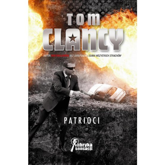 Książka Patrioci Clancy Tom