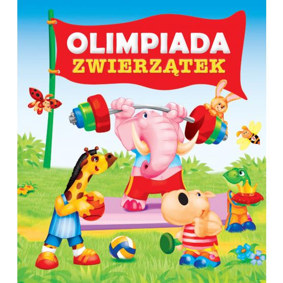 Książka Olimpiada zwierzątek Kozłowska Urszula