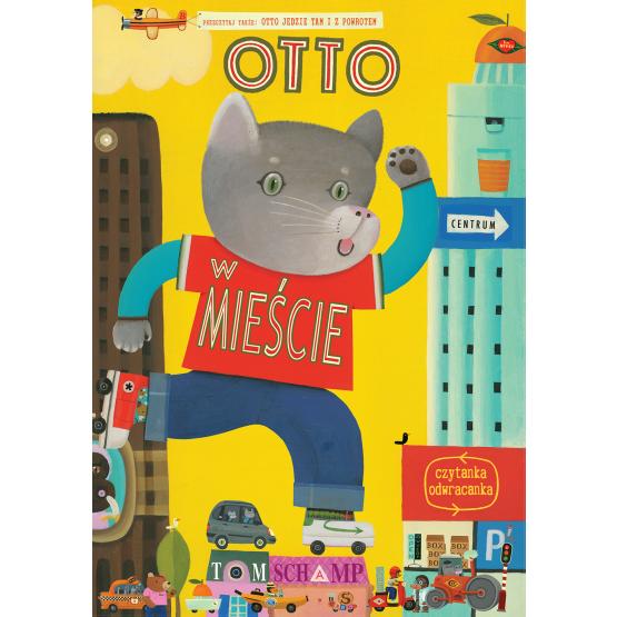 Książka Otto w mieście Mączka Iwona
