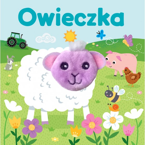 Książka Owieczka. Pacynka na paluszek Praca zbiorowa