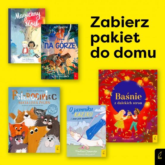 Książka Wspólne czytanie 3+. Pakiet nr 3. 5 książek praca zbiorowa
