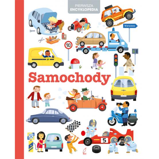 Książka Pierwsza encyklopedia. Samochody Praca zbiorowa