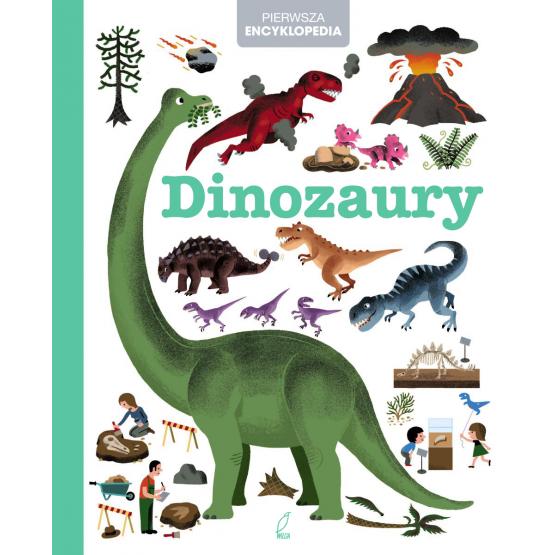 Książka Encyklopedia dla dzieci. Dinozaury Praca zbiorowa