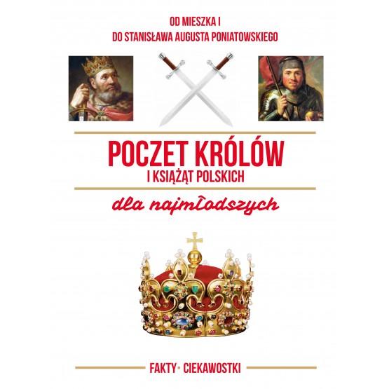 Książka Poczet królów i książąt polskich dla najmłodszych praca zbiorowa