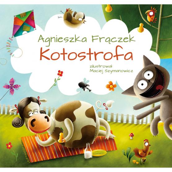 Książka Kotostrofa Frączek Agnieszka