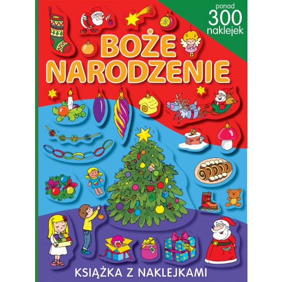 Książka Boże Narodzenie. Ponad 300 naklejek Yezioro