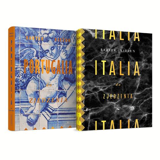 Książka Italia / Portugalia do zjedzenia. Pakiet Kieżun Bartek