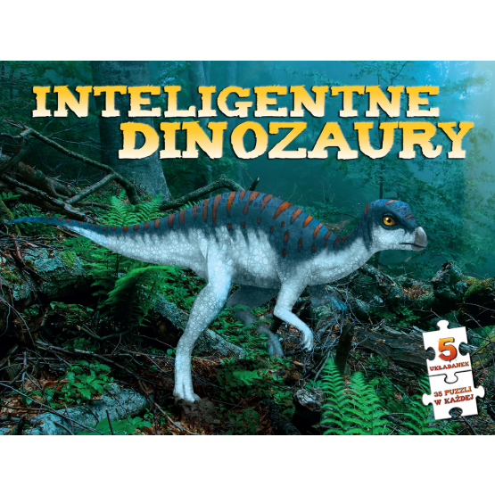 Książka Puzzle. Inteligentne dinozaury Praca zbiorowa