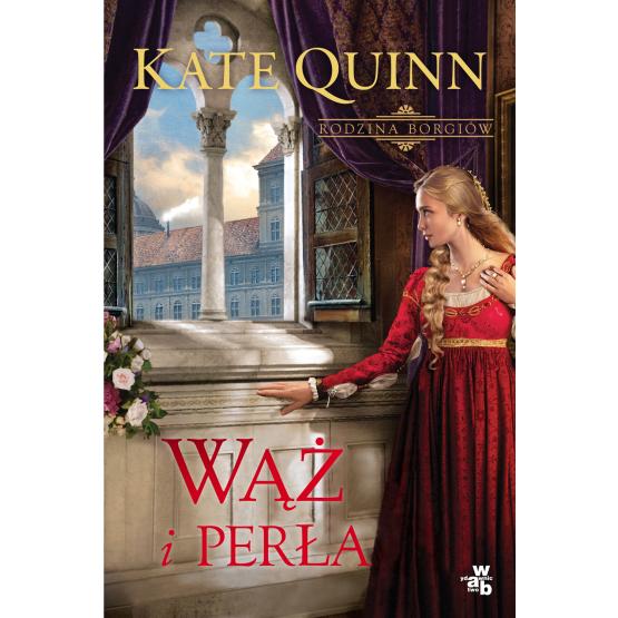 Książka Wąż i perła Quinn Kate
