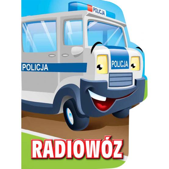 Książka Radiowóz. Wykrojnik Kozłowska Urszula