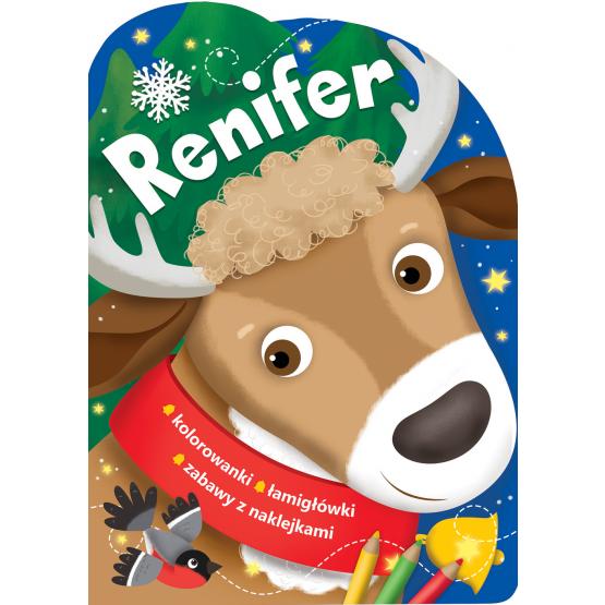 Książka Renifer. Świąteczne activity praca zbiorowa