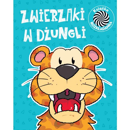 Książka Zwierzaki w dżungli. Ruchome obrazki praca zbiorowa