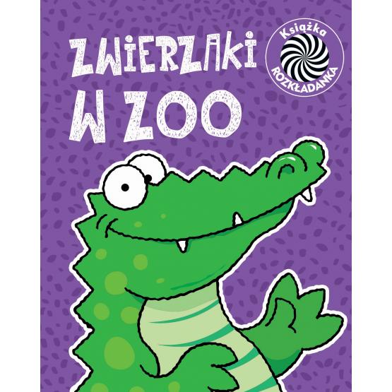 Książka Zwierzaki w zoo. Ruchome obrazki praca zbiorowa