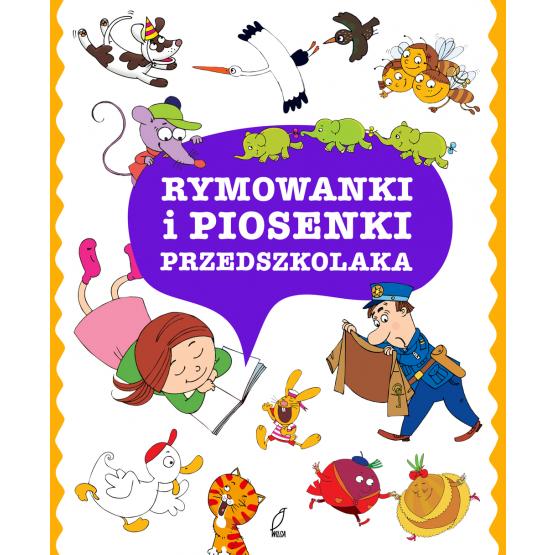 Książka Rymowanki i piosenki przedszkolaka Praca zbiorowa
