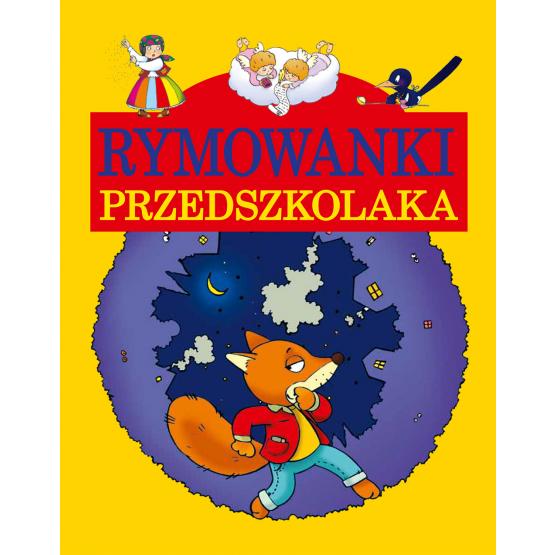 Książka Rymowanki przedszkolaka Praca zbiorowa