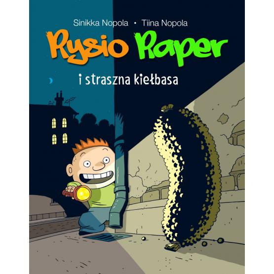 Książka Rysio Raper i straszna kiełbasa Podlaska Magdalena