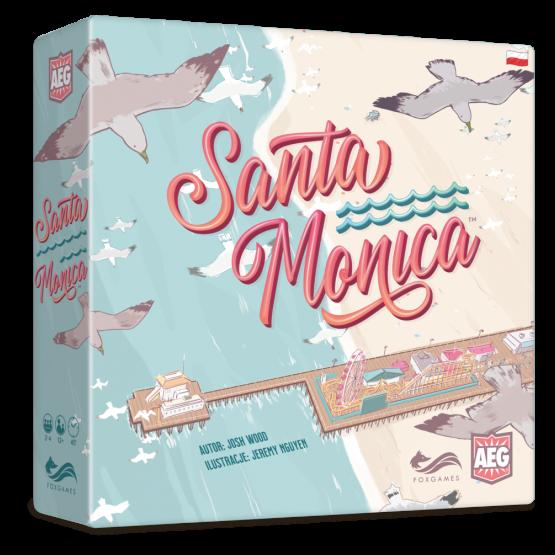 Książka Santa Monica Josh Wood