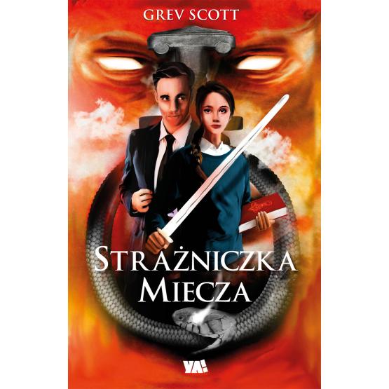 Książka Strażniczka miecza Scott Geev