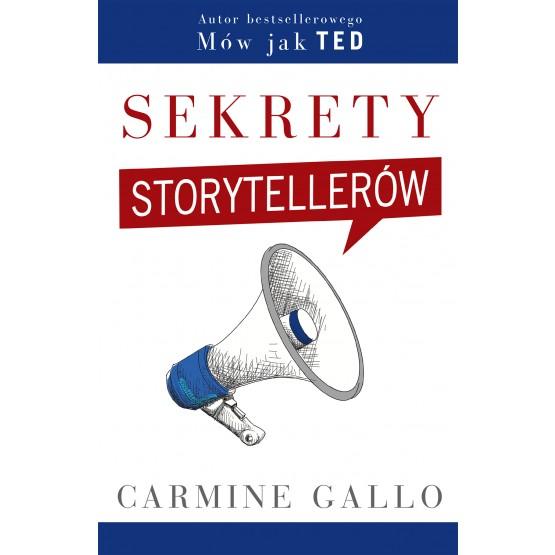 Książka Sekrety storytellerów Gallo Carmine