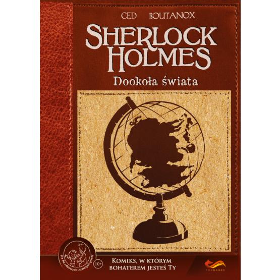 Gra paragrafowa Komiksy paragrafowe. Sherlock Holmes. Dookoła świata