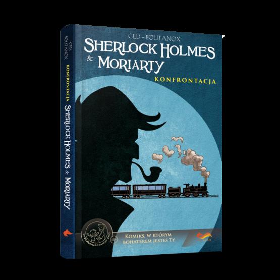 Gra paragrafowa Komiks paragrafowy. Sherlock Holmes & Moriarty. Konfrontacja