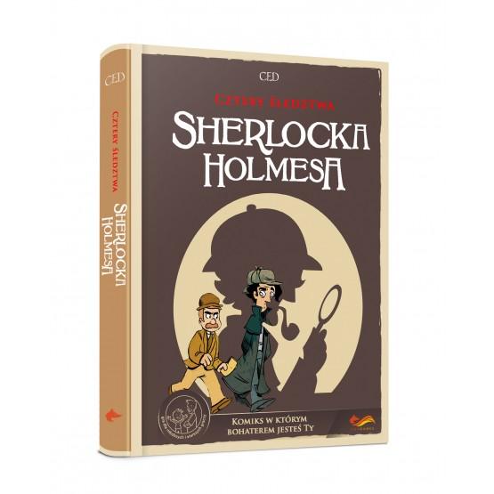 Gra paragrafowa Cztery śledztwa Sherlocka Holmesa. Komiks paragrafowy