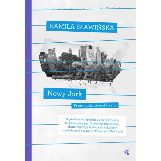 Książka Nowy Jork. Kolekcja poruszyć świat Sławińska Kamila