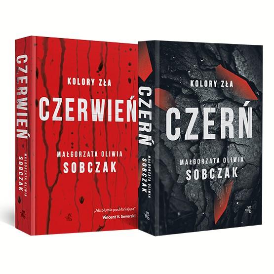 Książka Kolory zła. 2 tomy. Pakiet Małgorzata Oliwia Sobczak