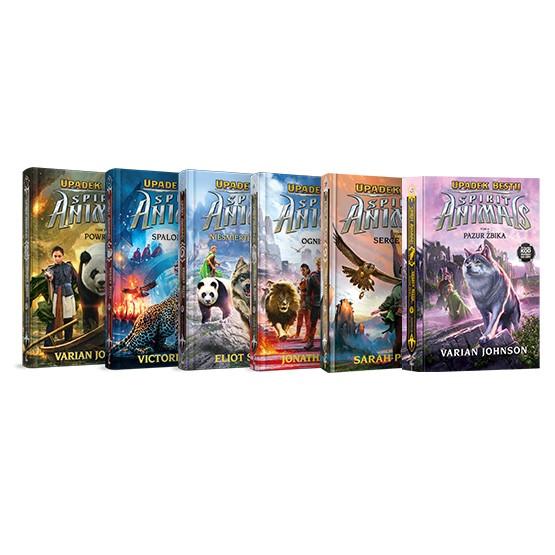 Książka Pakiet: Spirit Animals. Tomy 1-7 praca zbiorowa