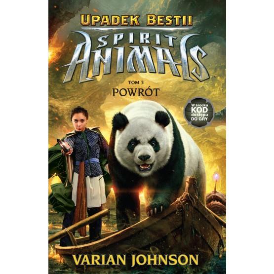 Książka Spirit Animals. Upadek bestii. Powrót. Tom 3 Johnson Varian