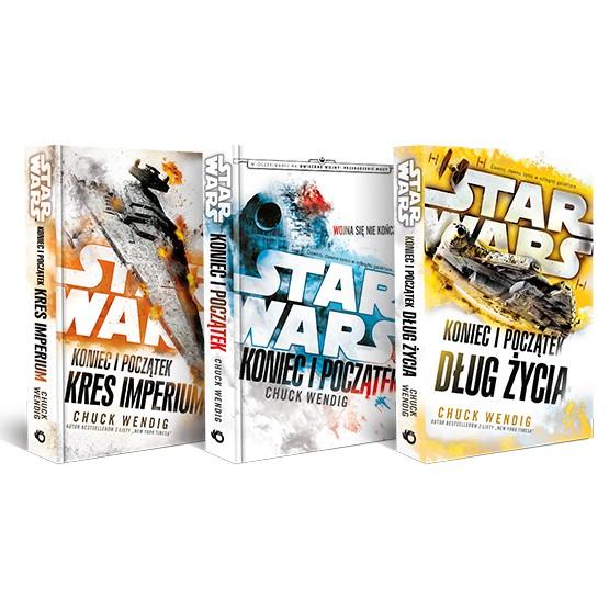 Książka Pakiet. Star Wars. Koniec i początek. Tomy: 1-3 Wendig Chuck