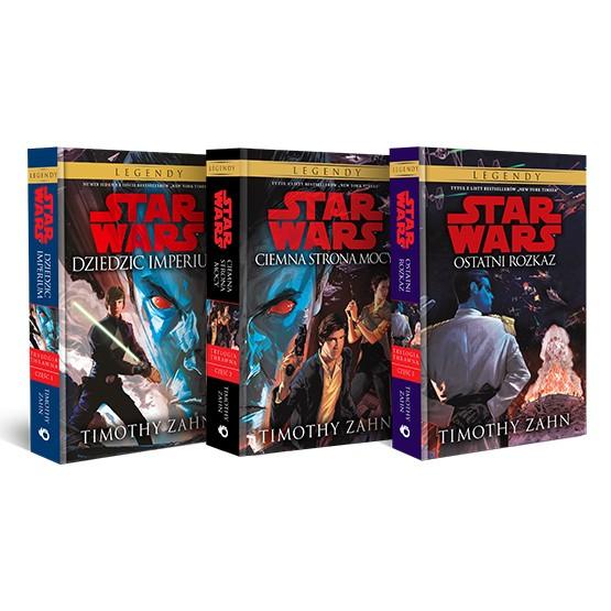 Książka Pakiet: Star Wars. Trylogia Thrawna Zahn Timothy