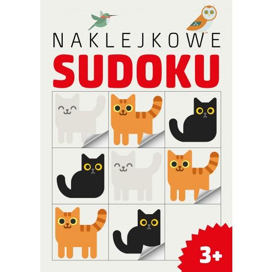 Książka Naklejkowe sudoku praca zbiorowa