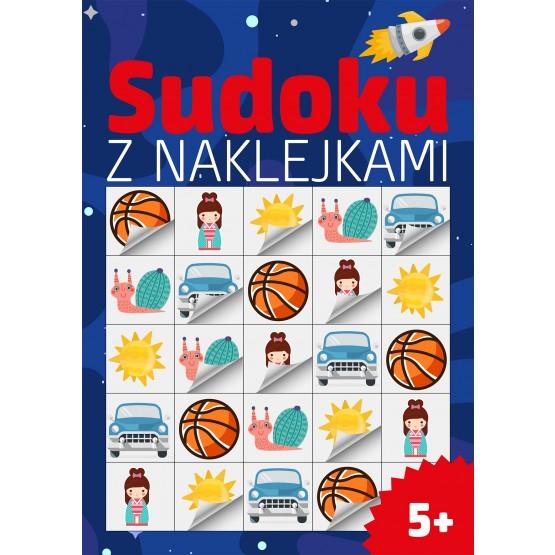 Książka Sudoku z naklejkami praca zbiorowa