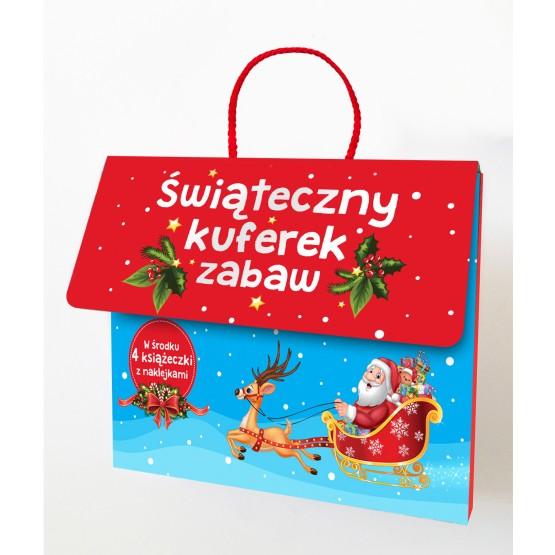 Książka Świąteczny kuferek zabaw praca zbiorowa